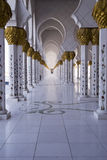 Shaikh Zayed Mosque Stock Photo