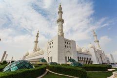 Shaikh Zayed Mosque Lizenzfreies Stockbild