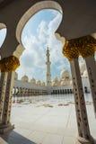 Shaikh Zayed Mosque Lizenzfreie Stockfotografie