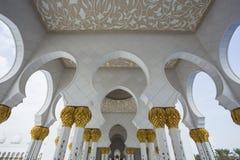 Shaikh Zayed Mosque Stockbild