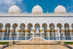 The Shaikh Zayed Mosque Royalty Free Stock Photo