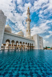 The Shaikh Zayed Mosque Royalty Free Stock Images