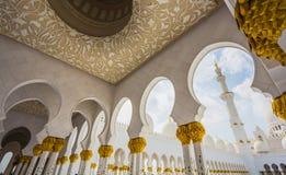 The Shaikh Zayed Mosque Royalty Free Stock Photos