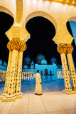 The Shaikh Zayed Mosque Royalty Free Stock Image
