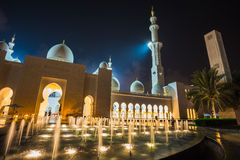 The Shaikh Zayed Mosque Stock Photo