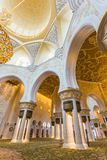The Shaikh Zayed Mosque inter Stock Photo
