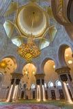 Shaikh Zayed Mosque Inter- Stockfotografie