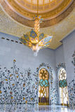 Shaikh Zayed Mosque Inter- Stockbilder