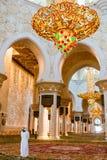 Shaikh Zayed Mosque Inter- Lizenzfreies Stockfoto