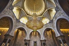Shaikh Zayed Mosque Inter- Stockfoto