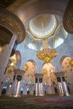 Shaikh Zayed Mosque Inter- Stockbild