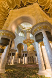 The Shaikh Zayed Mosque inter Stock Images