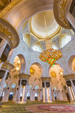 The Shaikh Zayed Mosque inter Royalty Free Stock Image