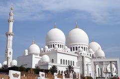 Shaikh Zayed's mosque. In Abu Dhabi,United Arab Emirates Stock Photos