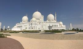 Shaikh Zyad盛大清真寺, Abhu-Dhabi 库存图片