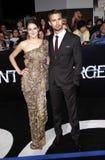 Shailene Woodley και Theo James Στοκ Φωτογραφία