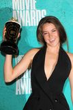 Shailene Woodley at the 2012 MTV Movie Awards Press Room, Gibson Amphitheater, Universal City, CA 06-03-12 Stock Image