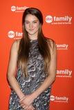 Shailene Woodley arrives at the ABC Family West Coast Upfronts Stock Photo