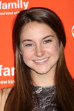 Shailene Woodley arrives at the ABC Family West Coast Upfronts Stock Photos