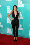 Shailene Woodley arriving at the 2012 MTV Movie Awards Royalty Free Stock Photos