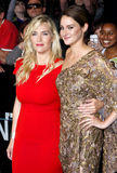 Shailene Woodley och Kate Winslet Arkivfoto