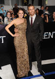 Shailene Woodley & Theo James Royalty Free Stock Photo
