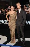 Shailene Woodley & Theo James Royalty Free Stock Image
