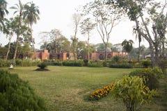 Shait Gumbad清真寺在Bagerhat,孟加拉国 库存照片