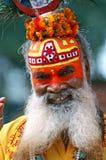 shaiva sadhu πορτρέτου Στοκ εικόνες με δικαίωμα ελεύθερης χρήσης