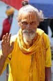 shaiva sadhu портрета Стоковое фото RF