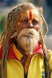 shaiva sadhu портрета Стоковые Фотографии RF