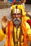 Shaiva sadhu in Nepal Stock Image