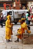 Shaiva sadhu in Nepal Stock Photography