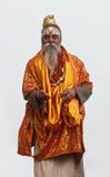 Shaiva sadhu in Varanasi, India Royalty Free Stock Images