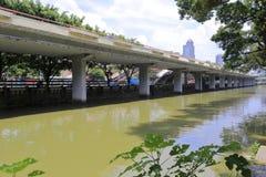 Shajiyong river highway bridge Royalty Free Stock Photos