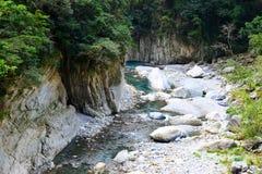 Shakadang Trail. Shakadan Trail in Taroko National Park, Taiwan Stock Image