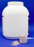 shake ветроуловителя протеина контейнера Стоковое Изображение