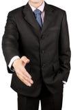 Shake руки бизнесмена Стоковые Изображения