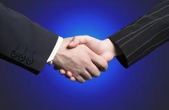 shake руки дела Стоковое Изображение