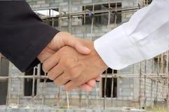 shake руки дела Стоковое фото RF