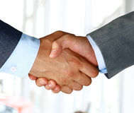 shake руки крупного плана дела Стоковая Фотография RF