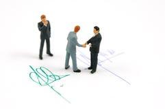 shake руки подряда Стоковое Изображение RF