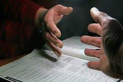 shake руки Стоковые Изображения RF