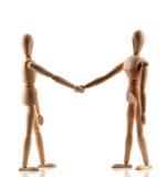 shake руки Стоковая Фотография
