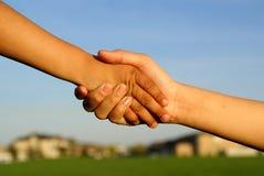 shake руки Стоковые Изображения