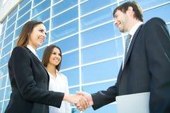 shake рук предпринимателей Стоковые Фотографии RF