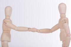 shake рук Стоковое фото RF