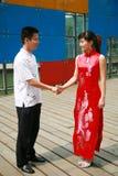 shake рук Стоковая Фотография RF