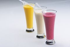 Shake drink Royalty Free Stock Images