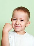 Shake fist Royalty Free Stock Photos